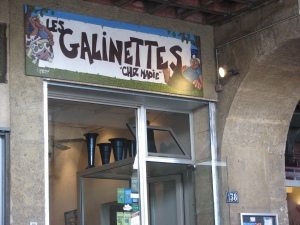 Les Galinettes, quai du Port